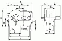 Редуктор цилиндрический двухступенчатый типа...