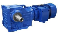 Мотор-редуктор цилиндро-коническо-цилиндричес