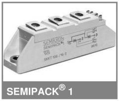 Тиристорный модуль Semikron SKKT57/12E