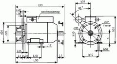Motores assincrónicos com três fases com...