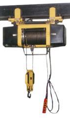 Таль электрическая канатная передвижная 0,5 т