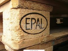 Деревянные поддоны по Epal и  и ГОСТ 9557-87