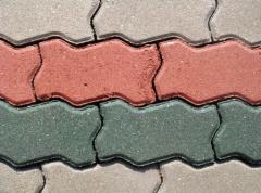 Тротуарная плитка фигурная. Тротуарная плитка