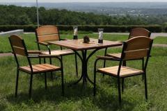 Комплект деревянной барной мебели Микс