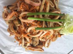 Кальмар по корейски салат индивидуальный рецепт