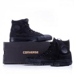 Converse ALL STAR gym shoes (konversa) Black high