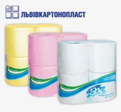 Бумага туалетная двошаровая с перфорацией (4 шт)