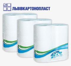Полотенца бумажные двошаровые с перфорацией (2 шт)