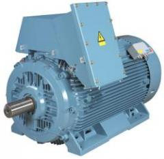 We offer electric motors new and warehousing from