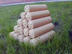 Брикеты топливные из древесины