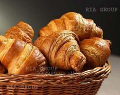 Confectionery mixes for production of croissants