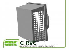 Изпускателна решетка с отвори за вентилация канал C-пакет-200