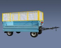 The trailer tractor PTS-4-01, loading capacity