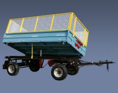 Прицеп тракторный ПТС-4-01, грузоподъемностью 4тн,