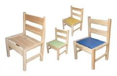 Chairs children's different growth groups for