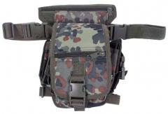 Bag on a hip of flecktarn MFH 30701V
