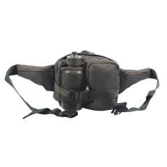 Поясная сумка тактическая с флягой MFH олива 30943B