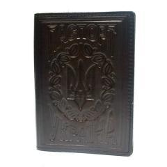 Обложка на паспорт Украины коричневая...