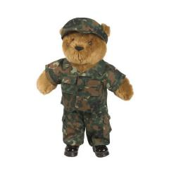 Form for a bear cub of plush flecktarn 16427021