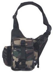 Bag shoulder MFH US woodland 30702T