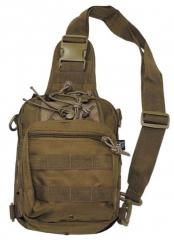 Bag shoulder MFH with MOLLE a coyote 30700R