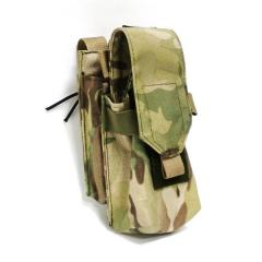 Cartridge pouch automatic AK3 threefold on MOLLE