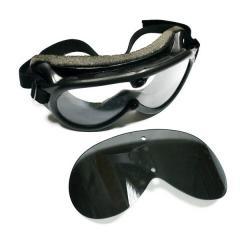 Тактические очки MIL-TEC 2 линзы - копия очков США 1970-1980 гг. 10001864