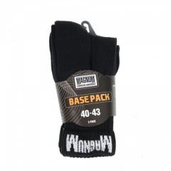 Magnum Base Pack socks black 3 couple 10002261