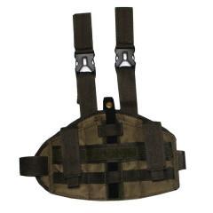 Platform olive, nabedrenny with a holster,