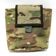 Bag for dumping of Multicam shops on MOLLE