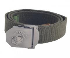 Ремень USMC MFH 40 мм olive 22507B