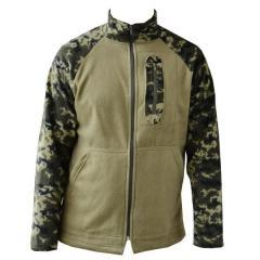 Fleece jacket tactical camouflage of the frontier