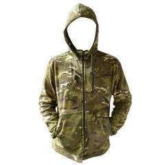 Fleece jacket multicam 10001973, tactical with a