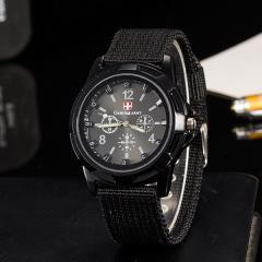 Men's watch Gemius Swiss army black