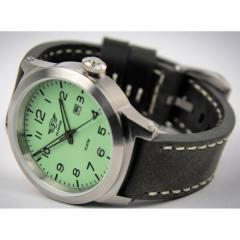 Men's watch Flieger chrome gray with a