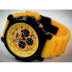 Men's watch chronograph Flieger yellow 37865B