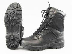 Los zapatos Viper tácticos negro VBOOTAC