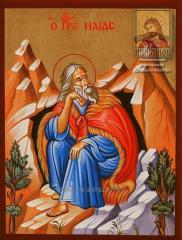 Илья Пророк — рукописная икона в наличии