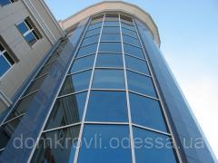 Алюминиевые конструкции фасады, перегородки, окна