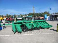 Corn harvester of KMS-6, KMS-8