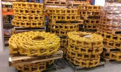 Гусеница JCB ролики , цепь, направляющие колеса