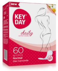 "Feminine pads hygienic daily ""KEY DAY daily..."