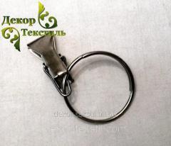 Крючки для штор и карнизов (металлические крабики)