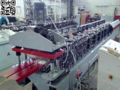 Production line of a siding metal