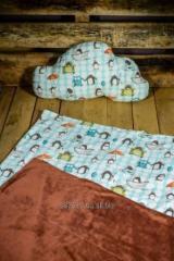 Pillows, plaids for children