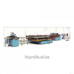 Equipment of production of rack systems