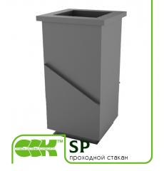Проходной стакан вентиляционный SP-15 ZS 50мм