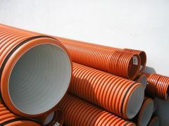 Труба канализационная ПВХ Ø400 S=7,8 SN2 L-3000