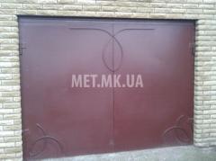 Ворота для гаража распашные
