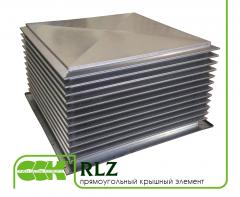 Крышный элемент вентиляции прямоугольный RLZ-500
